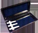 Plastic oboe reed case